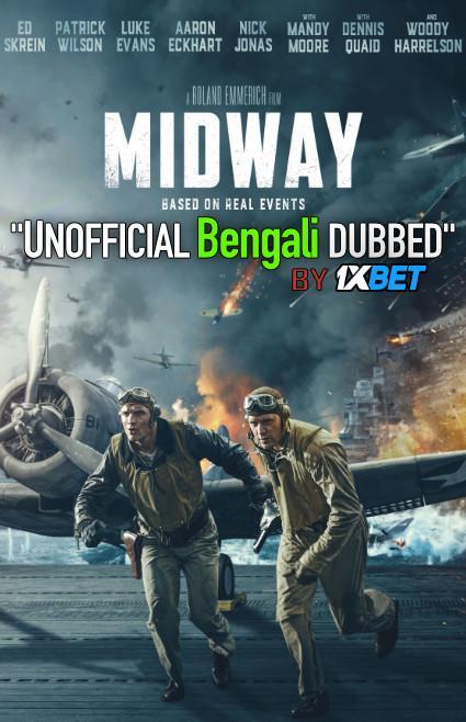 Midway (2019) Bengali [Unofficial Dubbed] WEBRip 720p HD [Action Film]