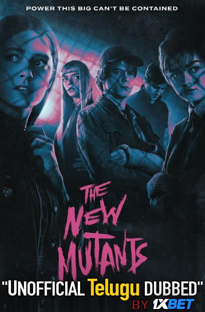 The New Mutants (2020) Telugu Dubbed (Unofficial VO) & English BRRip 720p [Full Movie] 1XBET