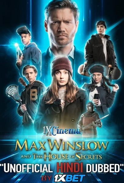 Max Winslow and the House of Secrets (2019) WebRip 720p Dual Audio [Hindi Dubbed (Unofficial VO) + English (ORG)] [Full Movie]