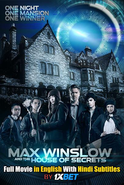 Max Winslow and the House of Secrets (2019) Web-DL 720p HD Full Movie [In English] With Hindi Subtitles