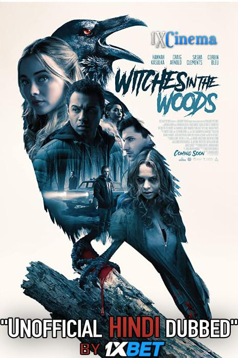 Witches in the Woods (2019) Hindi Dubbed (Unofficial VO) + English (ORG) [Dual Audio] BRRip 720p [1XBET]