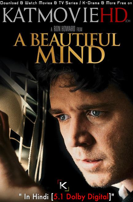 A Beautiful Mind (2001) Dual Audio [Hindi (ORG) DD 5.1 + English] Blu-Ray 1080p 720p 480p [Full Movie]