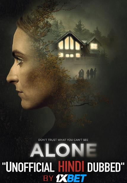 Alone 2020 Hindi (Unofficial Dubbed) + English (ORG) [Dual Audio] WebRip 720p [1XBET]