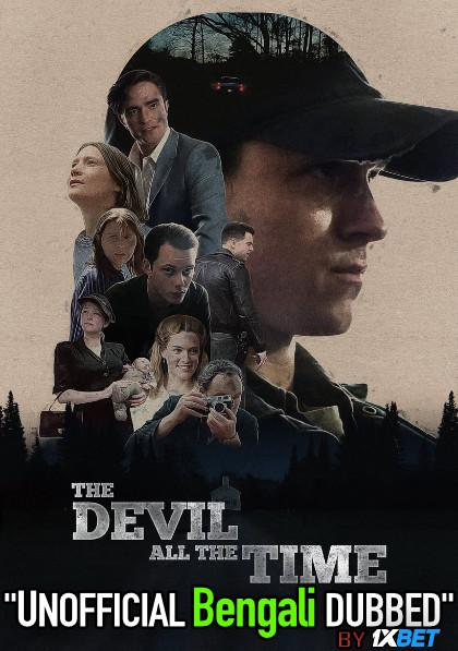 The Devil All the Time (2020) Bengali [Unofficial Dubbed] WEBRip 720p HD [Crime Film]