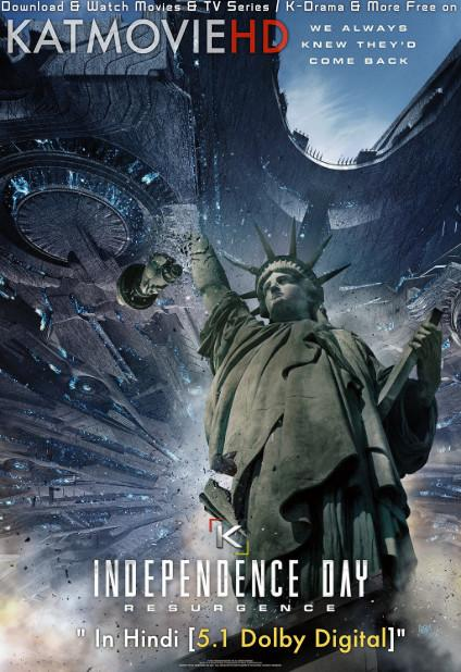 Download Independence Day: Resurgence (2016) BluRay 720p & 480p Dual Audio [Hindi Dub – English] Independence Day: Resurgence Full Movie On KatmovieHD.nl