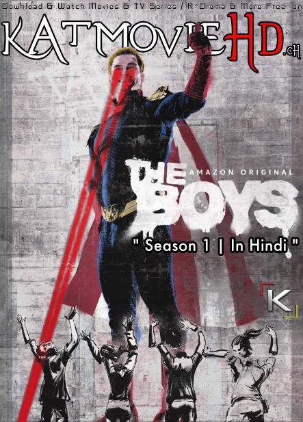 The Boys (Season 1) Dual Audio [ Hindi 5.1 – English ] 480p 720p HDRip | The Boys Netflix Series