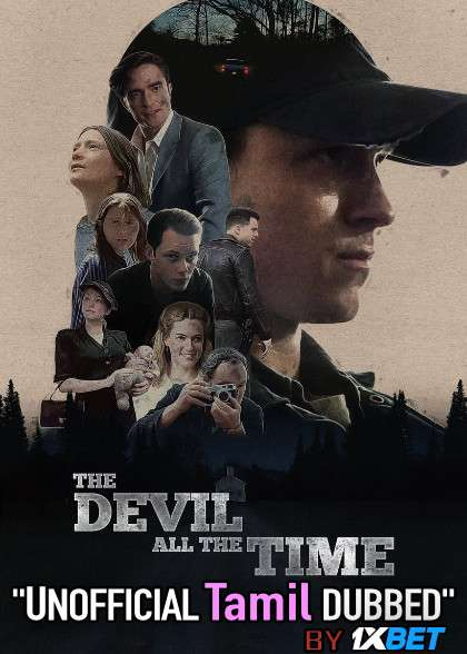 The Devil All the Time (2020) Tamil Dubbed (Unofficial) & English [Dual Audio] WEB-DL 720p [1XBET]