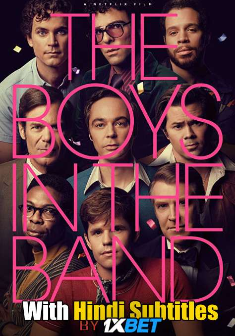 The Boys in the Band (2020) Web-DL 720p HD Full Movie [In English] With Hindi Subtitles