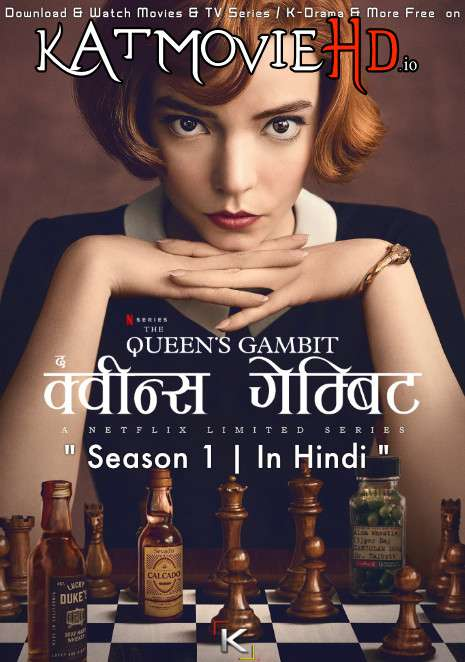 The Queen's Gambit (Season 1) Hindi (5.1 DD) [Dual Audio] | WEB-DL 1080p 720p 480p [NF TV Series]