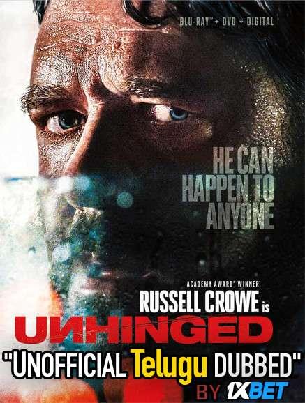 Unhinged (2020) Telugu (Unofficial Dubbed) & English [Dual Audio] WEB-DL 720p [1XBET]