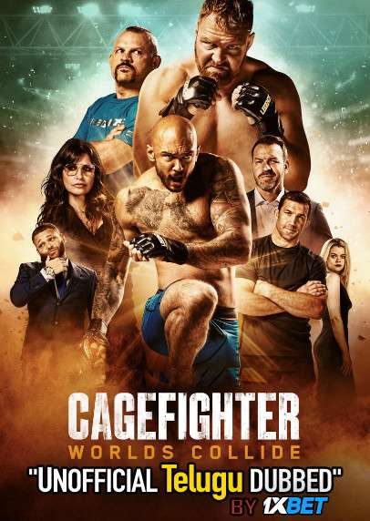 Cagefighter (2020) Telugu (Unofficial Dubbed) & English [Dual Audio] WEB-DL 720p [1XBET]