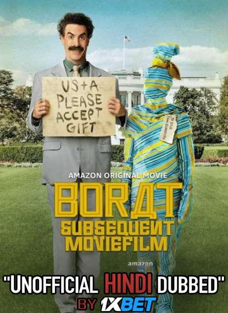 Borat Subsequent Moviefilm (2020) Hindi (Unofficial Dubbed) + English [Dual Audio] WebRip 720p [1XBET]