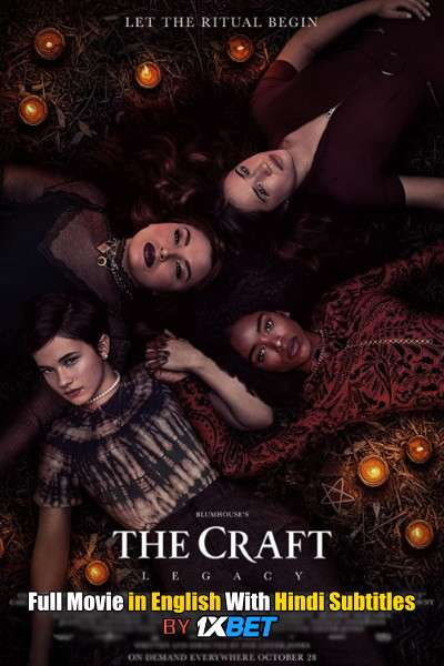 Download The Craft: Legacy (2020) Web-DL 720p HD Full Movie [In English] With Hindi Subtitles FREE on 1XCinema.com & KatMovieHD.ch