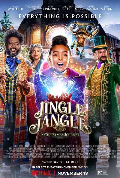 Download Jingle Jangle: A Christmas Journey (2020) BluRay 720p & 480p Dual Audio [Hindi Dub – English] Jingle Jangle: A Christmas Journey Full Movie On KatmovieHD.io