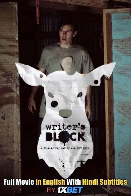 Download Writer's Block (2019) 720p HD [In English] Full Movie With Hindi Subtitles FREE on 1XCinema.com & KatMovieHD.ch