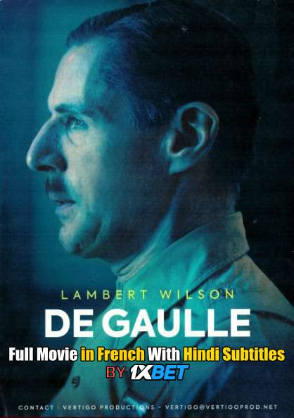 De Gaulle (2020) Web-DL 720p HD Full Movie [In French] With Hindi Subtitles