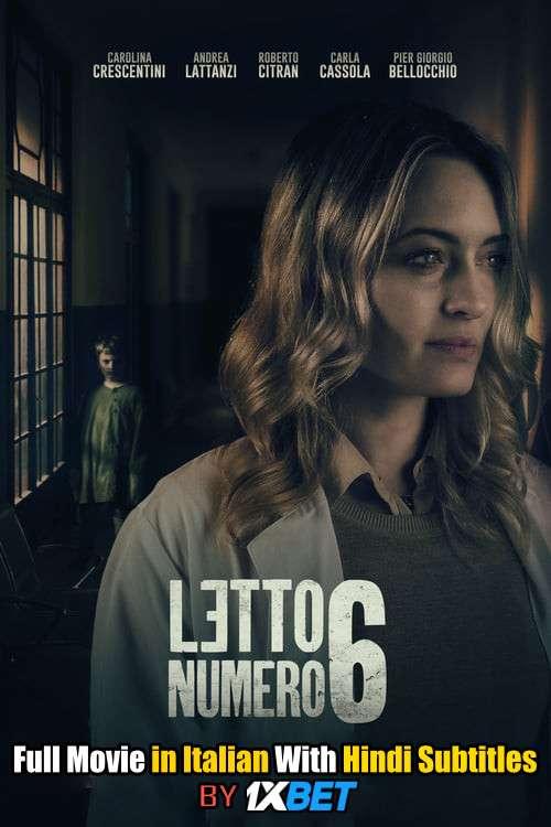 Letto numero 6 (2019) CamRip 720p Full Movie [In Italian] With Hindi Subtitles