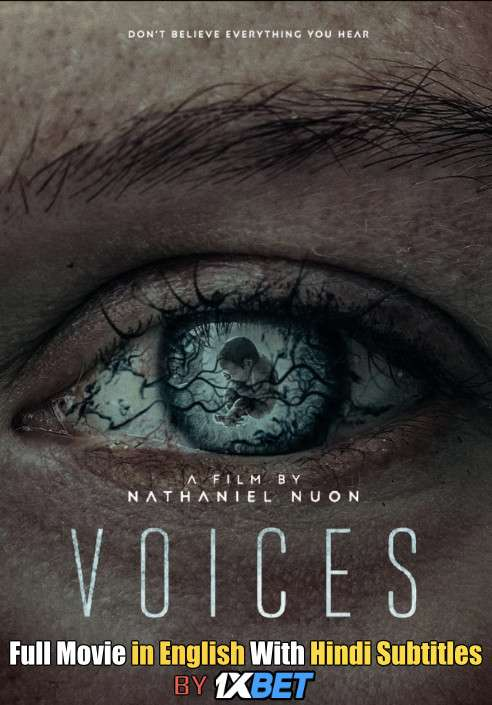 Download Voices (2020) 720p HD [In English] Full Movie With Hindi Subtitles FREE on 1XCinema.com & KatMovieHD.ch
