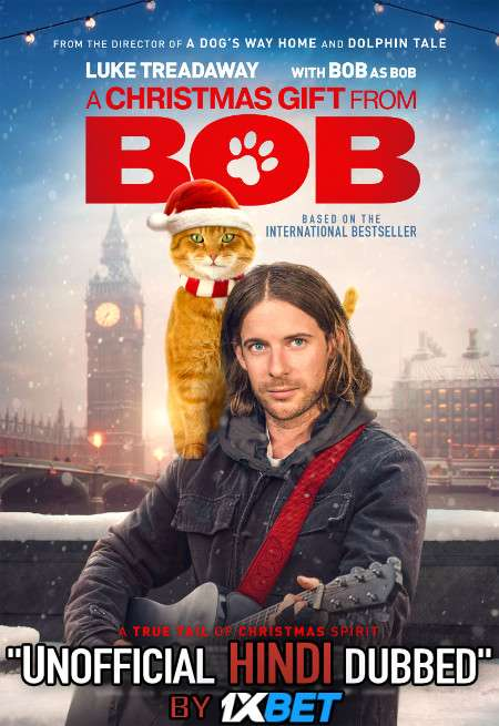 A Christmas Gift from Bob (2020) WebRip 720p Dual Audio [Hindi Dubbed (Unofficial VO) + English]