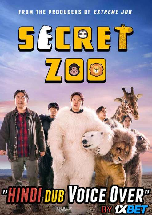 Secret Zoo (2020) BluRay 720p Dual Audio [Hindi (Voice over) Dubbed  + Korean] [Full Movie]