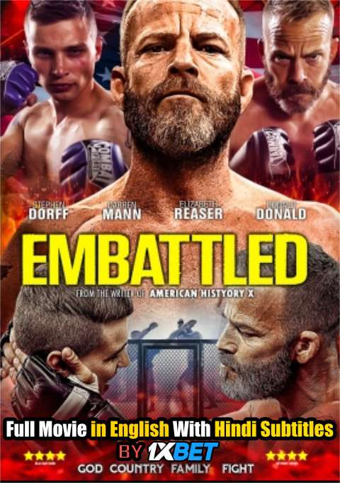 Embattled (2020) Web-DL 720p HD Full Movie [In English] With Hindi Subtitles