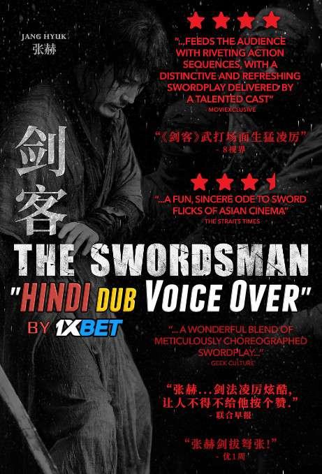 The Swordsman (2020) WebRip 720p Dual Audio [Hindi (Voice over) Dubbed + Korean] [검객 Full Movie]