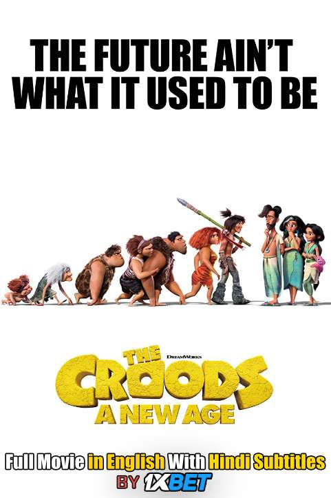 The Croods 2 (2020) Full Movie [In English] With Hindi Subtitles [HDCam 720p]
