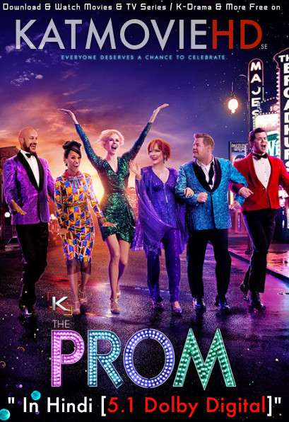 The Prom (2020) Hindi (DD 5.1) [Dual Audio]  Web-DL 1080p 720p 480p [x264 & HEVC] | Netflix Movie