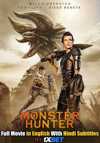 Download Monster Hunter (2020) 720p HD [In English] Full Movie With Hindi Subtitles FREE on 1XCinema.com & KatMovieHD.io