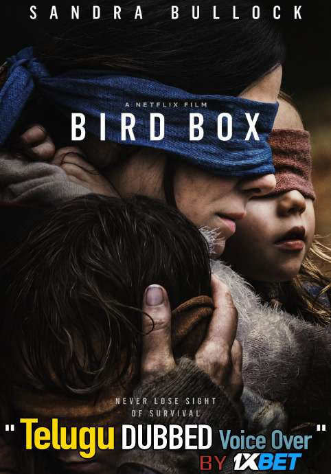 Bird Box (2018) Telugu Dubbed (Voice Over) & English [Dual Audio] WEB-DL 720p [1XBET]