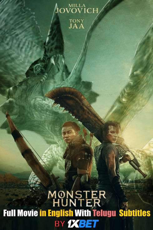 Monster Hunter (2020) HDCAM 720p Full Movie [In English] With Telugu Subtitles