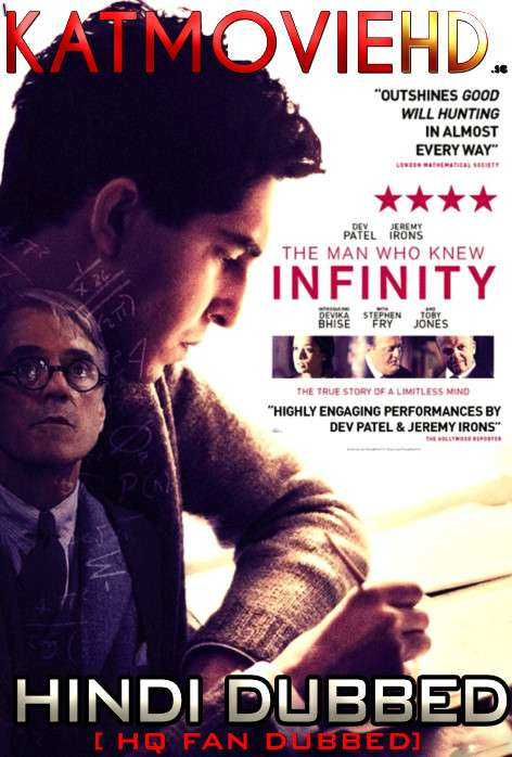 The Man Who Knew Infinity (2015) Hindi (HQ Fan Dubbed) BluRay 1080p / 720p / 480p [With Ads !]