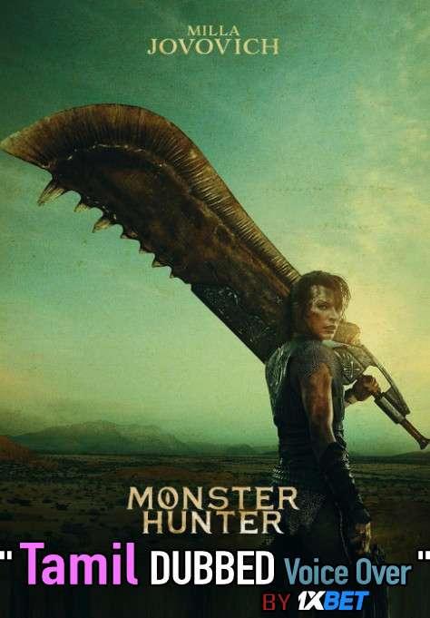 Monster Hunter (2020) HDCAM 720p Dual Audio [Tamil (Voice over) Dubbed + English] [Full Movie]