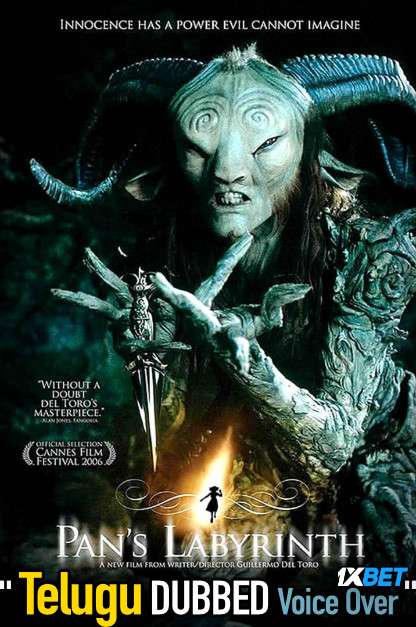 Pan's Labyrinth (2006) Telugu Dubbed (Voice Over) & Spanish [Dual Audio] BDRip 720p [1XBET]