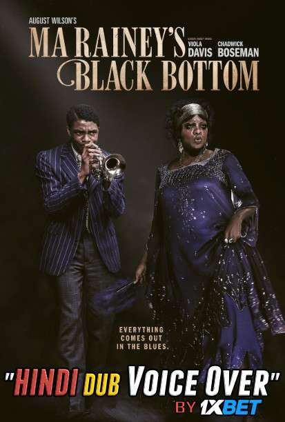 Ma Raineys Black Bottom (2020) WebRip 720p Dual Audio [Hindi Dubbed (Unofficial VO) + English] [Full Movie]