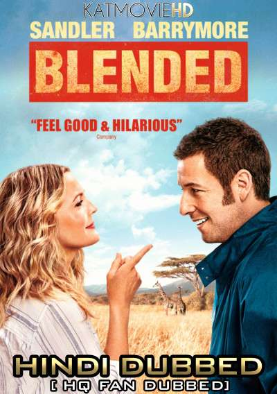 Blended (2014) BluRay 480p 720p [Dual Audio] Hindi (Fan Dub) + English (ORG) [1XBET]
