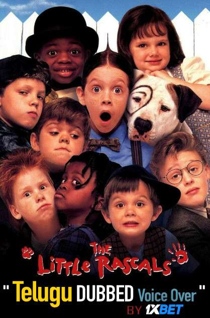 The Little Rascals (1994) Telugu Dubbed (Voice Over) & English [Dual Audio] BDRip 720p [1XBET]