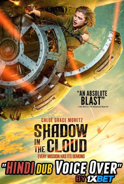 Shadow in the Cloud (2020) Hindi (Voice Over) Dubbed + English [Dual Audio] WebRip 720p [1XBET]