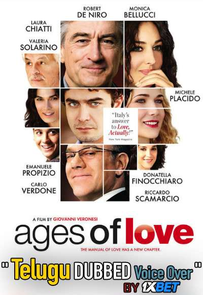 The Ages of Love (2011) Telugu Dubbed (Voice Over) & Italian [Dual Audio] BDRip 720p [1XBET]