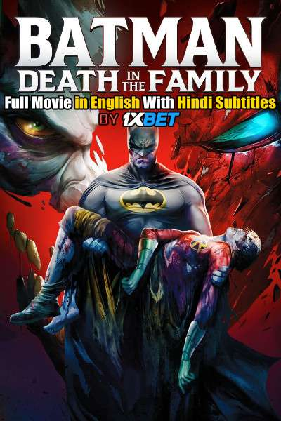 Batman: Death in the Family (2020) BDRip 720p Full Movie [In English] With Hindi Subtitles