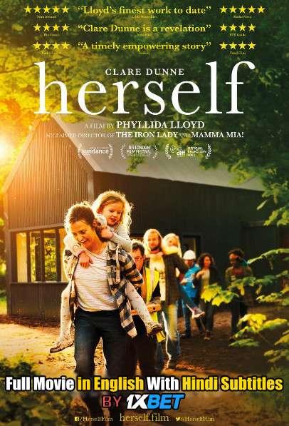 Download Herself (2020) WebRip 720p Full Movie [In English] With Hindi Subtitles FREE on 1XCinema.com & KatMovieHD.io