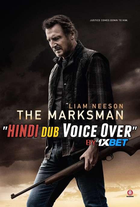 The Marksman (2021) HDCAM 720p Dual Audio [Hindi (Voice Over) Dubbed + English] [Full Movie]
