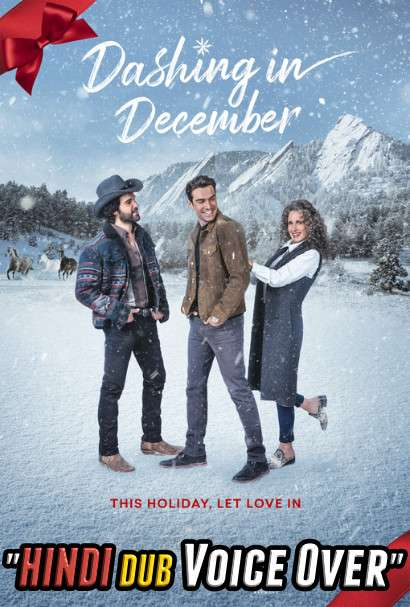 Dashing in December (2020) Hindi (Voice Over) Dubbed + English [Dual Audio] WEBRip 720p [Full Movie]