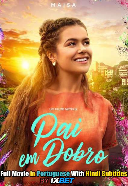 Double Dad (2021) WebRip 720p Full Movie [In Portuguese] With Hindi Subtitles