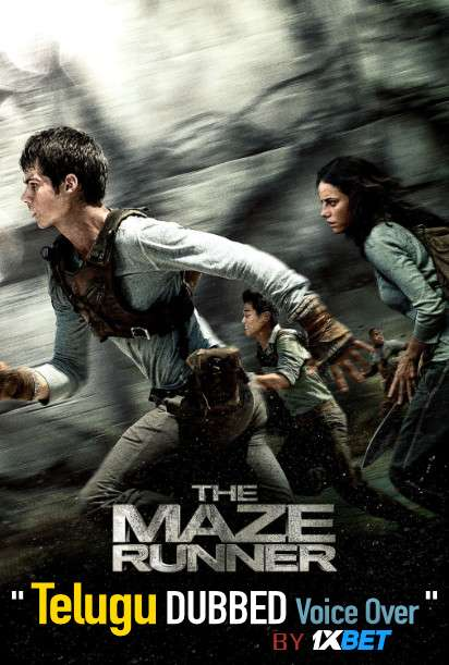 The Maze Runner (2014) Telugu Dubbed (Voice Over) & English [Dual Audio] BDRip 720p [1XBET]