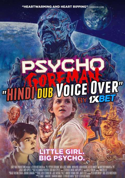 Psycho Goreman (2020) WebRip 720p Dual Audio [Hindi (Voice Over) Dubbed + English] [Full Movie]