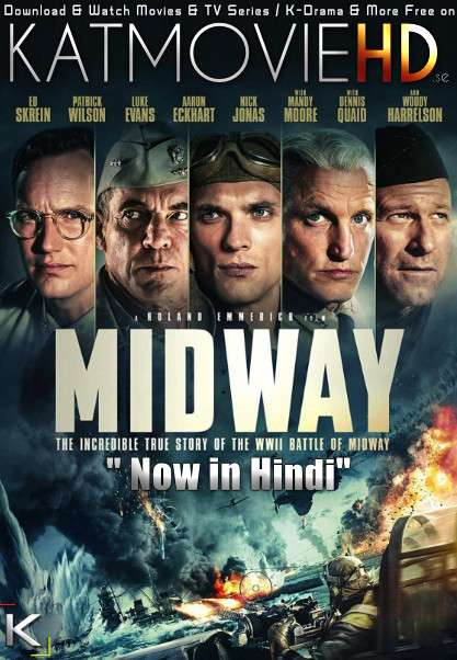 Midway (2019) Hindi (ORG DD 2.0) [Dual Audio] BluRay 1080p 720p 480p x264 | HEVC [Full Movie]