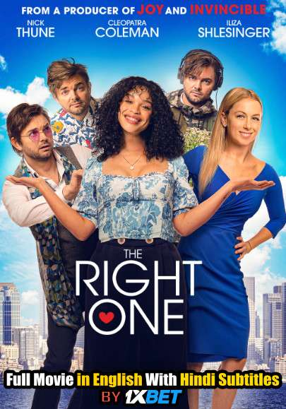 The Right One (2021) BDRip 720p Full Movie [In English] With Hindi Subtitles