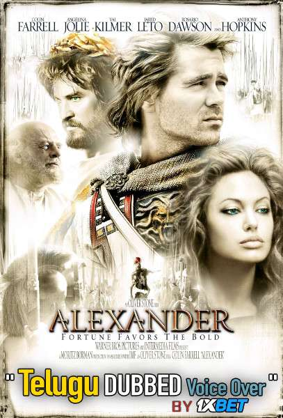 Alexander (2004) Telugu Dubbed (Voice Over) & English [Dual Audio] BDRip 720p [1XBET]