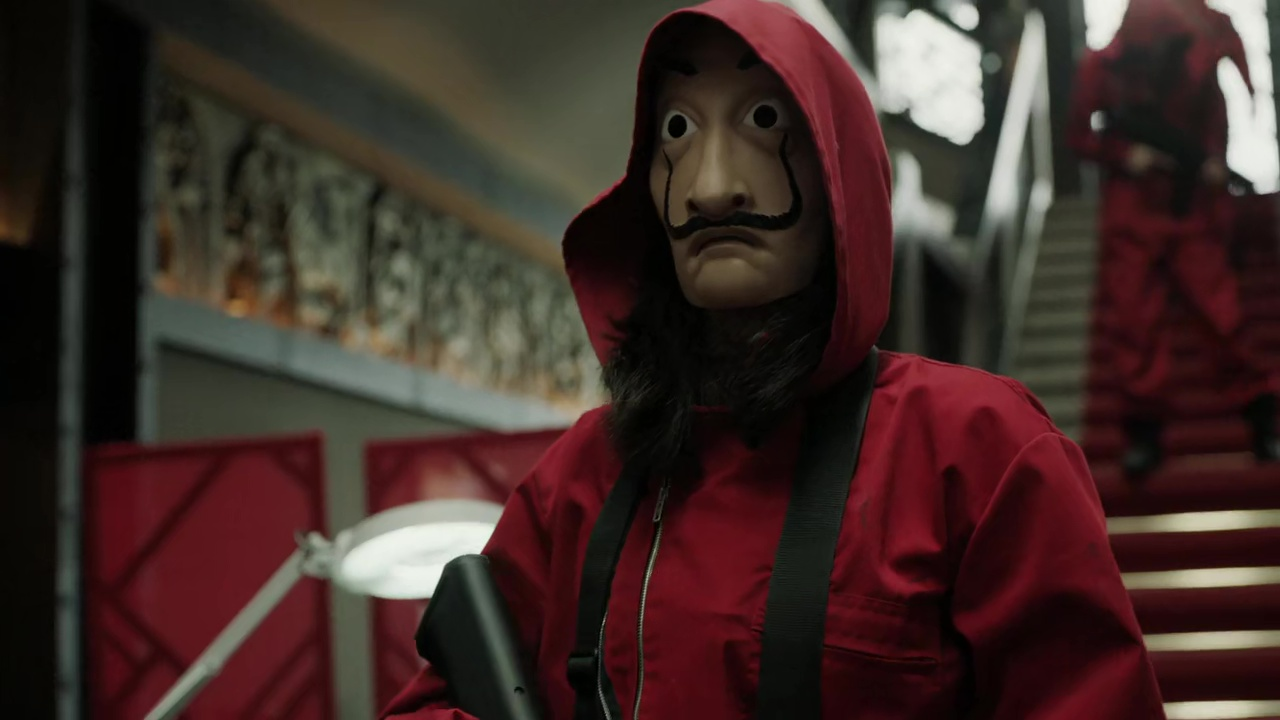 Download Money Heist Season 1 (2017) Dual Audio (Hindi-English) 480p [150MB] || 720p [350MB]